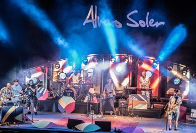 Alvaro Soler al GruVillage Festival: le foto più belle
