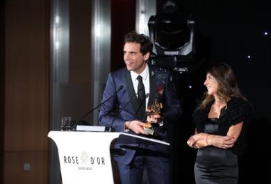 Mika premiato a Berlino