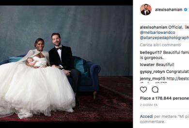 Serena Williams ha condiviso le foto delle sue nozze. Guarda le più romantiche!