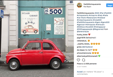 """Il progetto Fiat 500 entra al MoMA"" vince il Corporate Art Awards"
