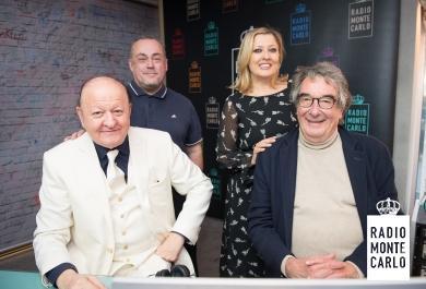 Massimo Boldi e Neri Parenti  ospiti di RMC:  le foto