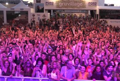 LP: il live al GruVillage Festival