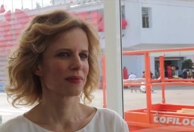 Sonia Bergamasco: ogni tappeto rosso è sempre un'emozione!