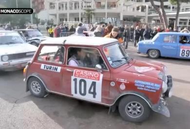 Il Rally Storico di Monte Carlo