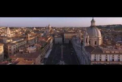 La grande bellezza di Roma... vista da un drone. Il video