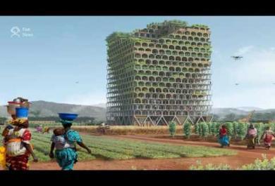 L'incredibile grattacielo che può sfamare una città intera