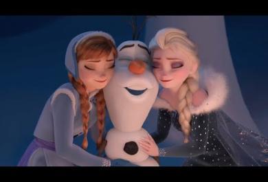 Il Natale secondo Frozen: guarda il trailer con Elsa, Anna e Olaf