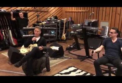 Depeche Mode: l'anteprima del tour in un video
