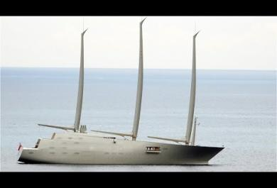 Ricordate lo yacht a vela più grande del mondo? Adesso potreste incontrarlo durante le vostre vacanze!