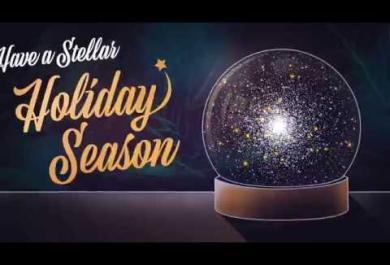 Gli auguri di Natale dallo spazio