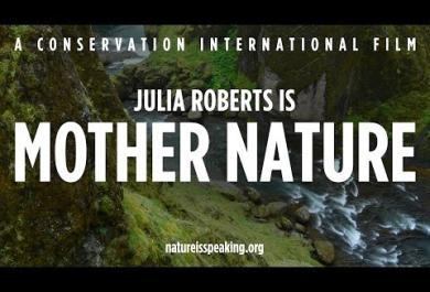 Giornata Mondiale della Terra: Julia Roberts è Madre Natura