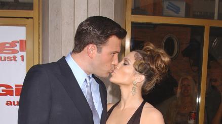 Jennifer Lopez, Ben Affleck e quel romanticissimo primo bacio ufficiale