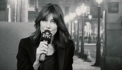 Carla Bruni nel nuovo spot di Radio Monte Carlo!