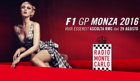 Al Gran Premio di Monza… con RMC!
