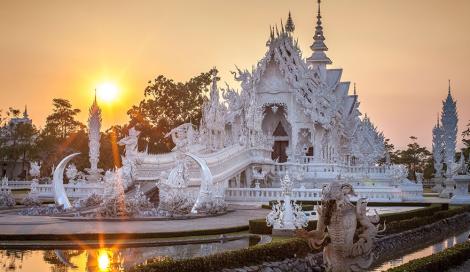 Il Tempio Bianco, meraviglia dalla Thailandia