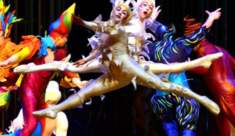 Varekai: il nuovo affascinante spettacolo del Cirque du Soleil