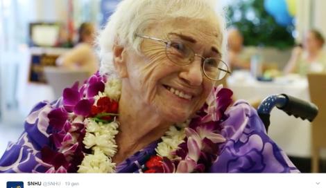 Laureata a 94 anni. Amy Craton è una delle donne più anziane a conseguire una laurea