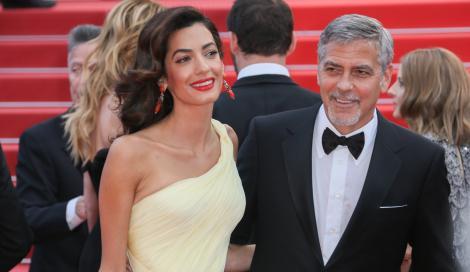 George Clooney e Amal avranno un bambino e una bambina