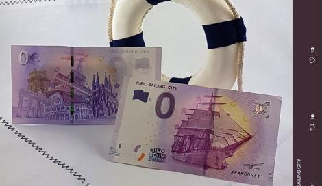 Incredibile: arriva la banconota da 0 euro!