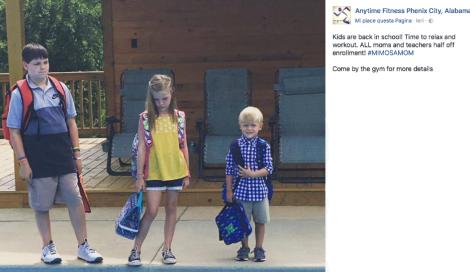 La foto del primo giorno di scuola che ogni genitore sogna di scattare dopo l'estate