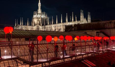 Highline Galleria: tutta la magia del Natale sui tetti della Galleria Vittorio Emanuele a Milano
