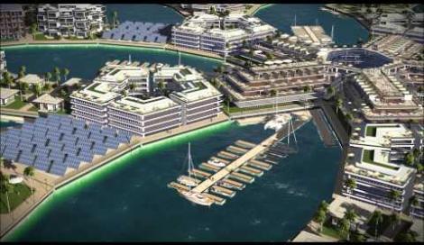 Un'incredibile città galleggiante sorgerà in mezzo all'Oceano Pacifico. Guarda il video