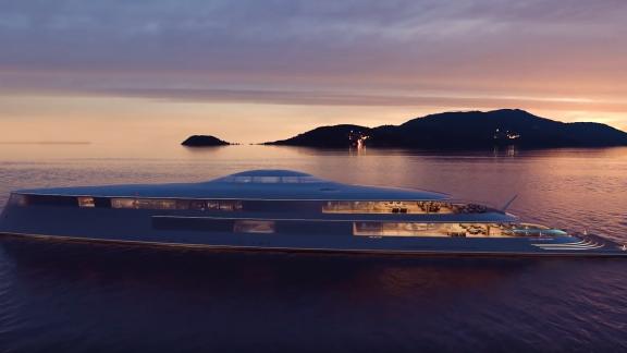 Aqua. Lo yacht del futuro è alimentato ad idrogeno