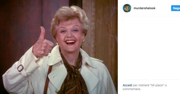 Angela lansbury 92 anni in giallo radio monte carlo - Assassinio allo specchio ...