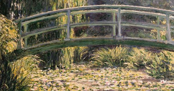 Banksy da capogiro: asta record per la sua rivisitazione de Lo stagno delle ninfee di Monet