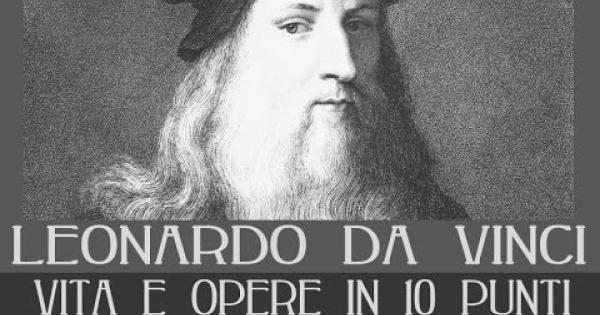 Leonardo da Vinci e il suo genio: lo ricordiamo nell'anniversario ...