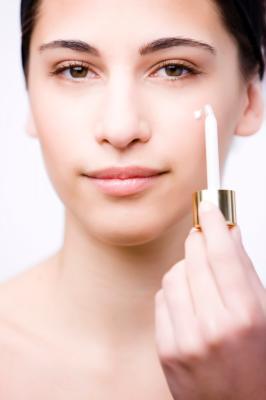 Maschera per pelle di faccia secca nutriente