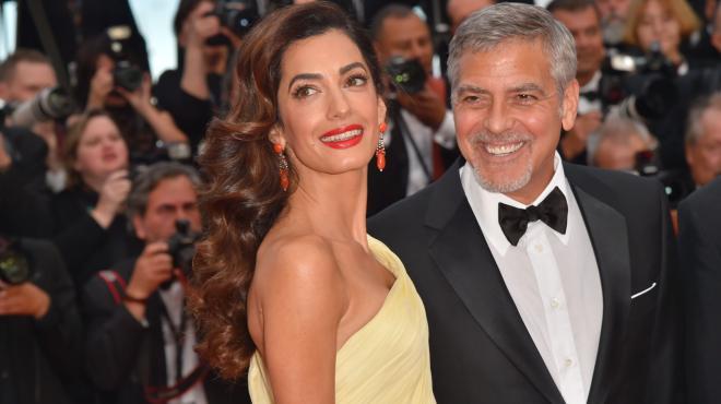 George Clooney e Amal entusiasmano il red carpet di Cannes