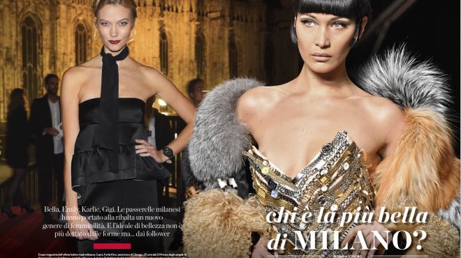 Chi è la più bella di Milano?