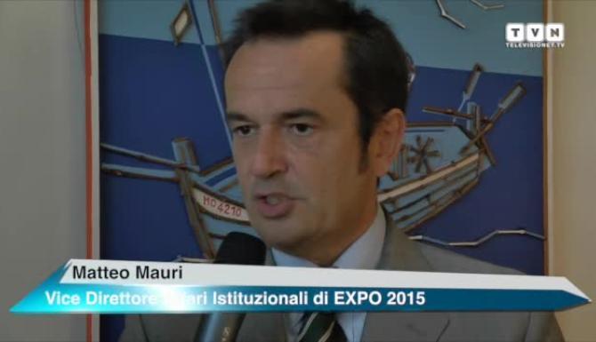 Matteo Mauri, vicepresidente degli Affari Istituzionali di Expo, ha preso parte all'evento di Sportello Italia
