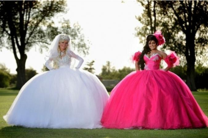 Eccezionale Abiti da sposa così esagerati da sembrare finti - Foto 1 di 7  VF82