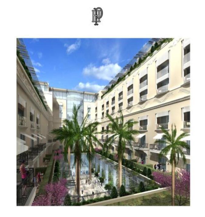 Nuovo Progetto Della Sbm Hotel De Paris E Sporting D