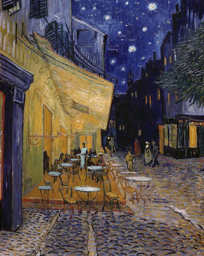 La notte stellata di van gogh foto 1 di 18 radio for Notte di van gogh