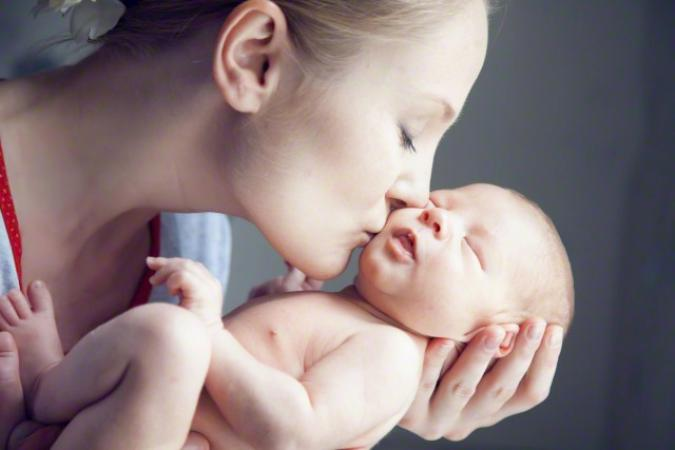 """Super L'appello su FB di una neo-mamma: """"L'herpes labiale può essere  OM44"""