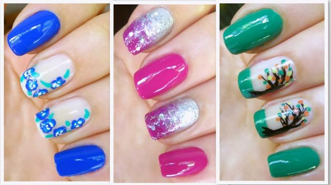 Ultime Tendenze Nail Art Estate 2015 Idee Multicolor Foto Pictures To Pin On Pinterest
