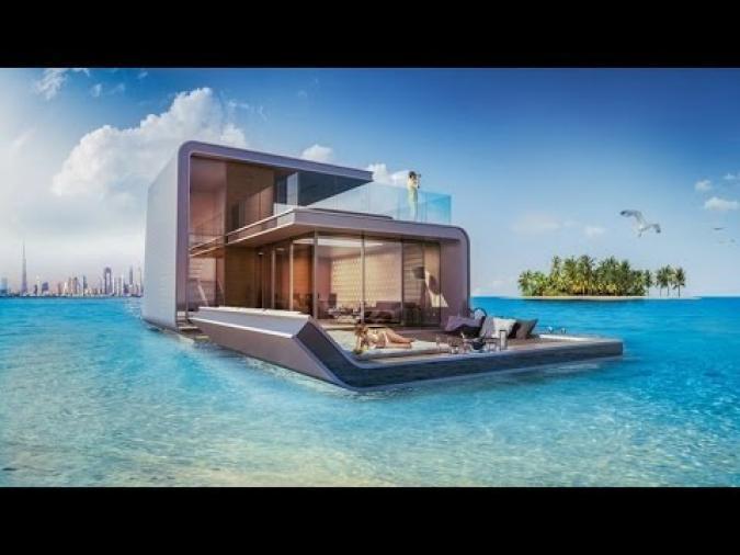 A Dubai la villa galleggia sul mare - Radio Monte Carlo