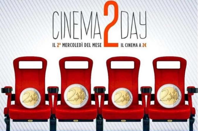 Cinema, ogni secondo mercoledi del mese il biglietto costerà 2 euro