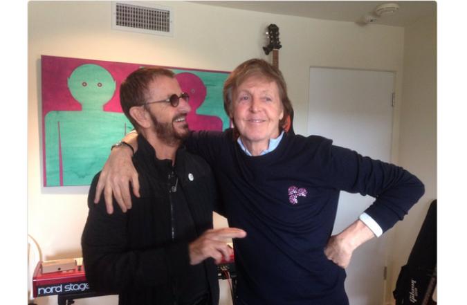 Paul McCartney e Ringo Starr: reunion in studio per gli ex Beatles