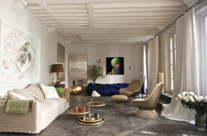 A parigi una casa da sogno tra liberty e tocchi esotici for Interni parigini