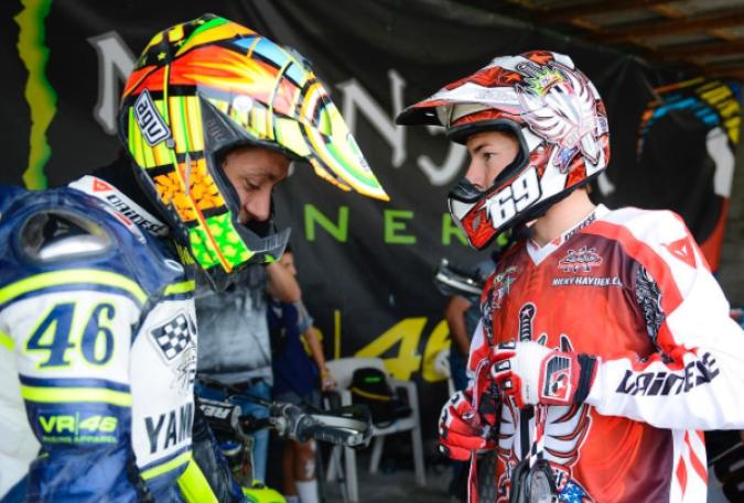 MotoGP: Rossi, una