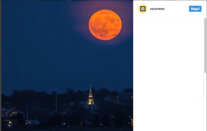 Si avvicina la notte della Superluna L'unica visibile (meteo permettendo) del 2017