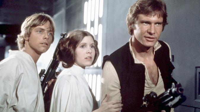 E' morta Carrie Fischer, la Principessa Leila di Star Wars