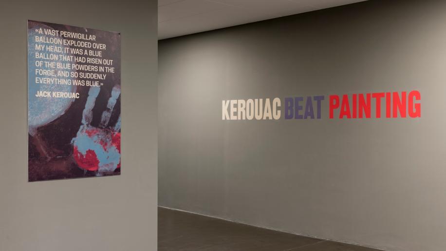 Kerouac. Beat Painting. RMC è radio ufficiale