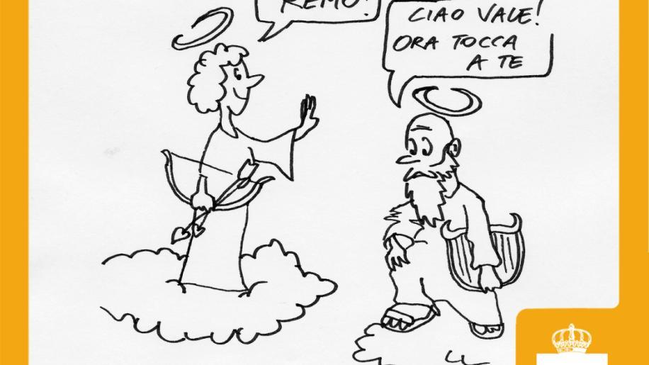Sanremo 2018: la vignetta dei Finley