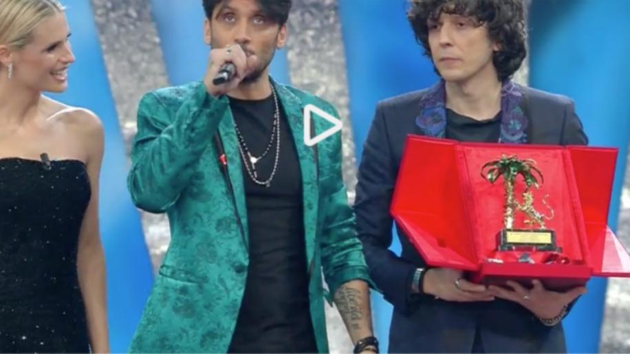 Ermal Meta e Fabrizio Moro vincono il Festival di Sanremo 2018