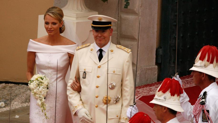 Principessa Charlène e Principe Alberto: i francobolli per i 10 anni di matrimonio